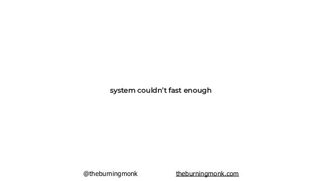 @theburningmonk theburningmonk.com updates required 30 mins downtime