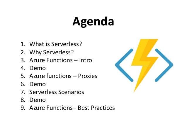 Serverless Computing with Azure Slide 3