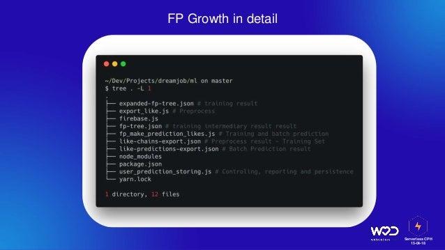 Serverless CPH 15-04-18 FP Growth in detail