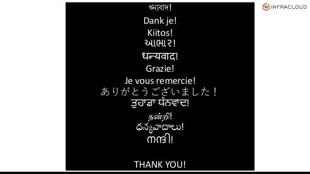 ধন্যবাদ! Dank je! Kiitos! આભાર! धन्यवाद! Grazie! Je vous remercie! ありがとうございました! ਤੁਹਾਡਾ ਧੰਨਵਾਦ! நன்றி! ధన్యవాదాలు! നന്ദി! T...