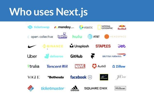 Who uses Next.js