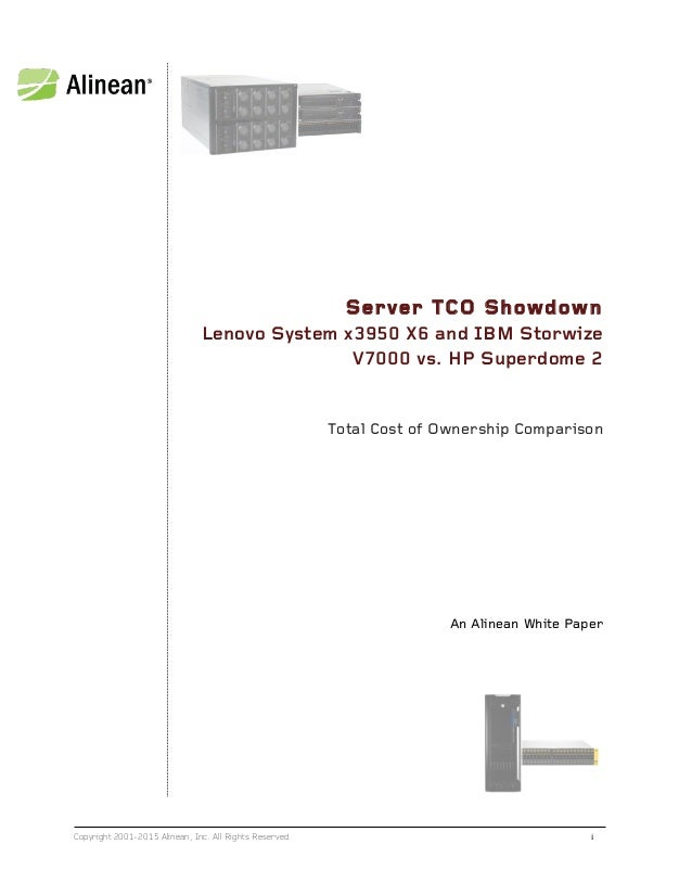 Lenovo System X3950 X6 Vs Hp Superdome 2