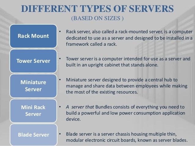Dedicated server information definition g