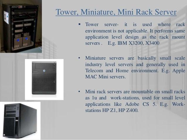 7 Tower Miniature Mini Rack Server