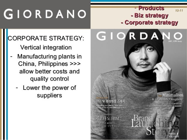 giordano positioning for international expansion Subject area retailing, services marketing, marketing strategy study level/applicability undergraduate business and management, mba, ma marketing/international business case overview giordano is one of asia's most successful retailers, with operations in east asia, southeast asia, the.
