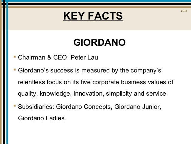 giordano strategy Go beyond swot analysis by learning how to  you can use these techniques to think about the strategy of your  the tows matrix is a relatively simple tool.