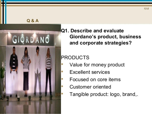 giordano positioning As we all know, giordano as one of fashion store which came from hongkong is already spread in many cities especially in asia, europe, australia.