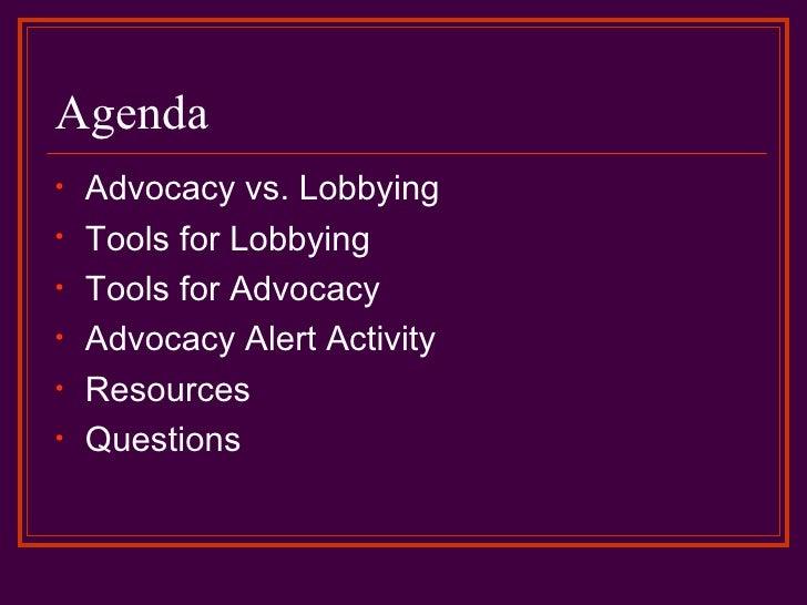 Advocacy & Lobbying for Student Organizations