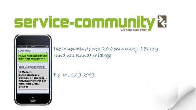 Fragen und Antworten auf der Firmenwebsite mit Wissenscommunity