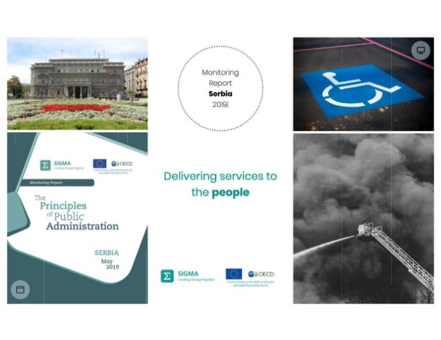 Delivering services to the people, Annika Uudelepp, 2019 SIGMA monitoring report dissemination event, Belgrade, 2 October ...