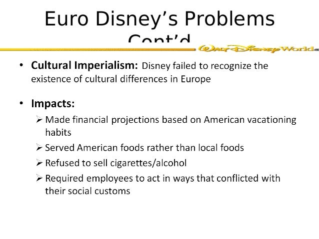 service marketing case study euro disney Case study  the case documents issues involved with euro disney examines  the transferability of a successful service concept across.