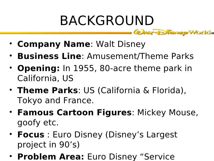 disney intercultural differences with euro disney essay