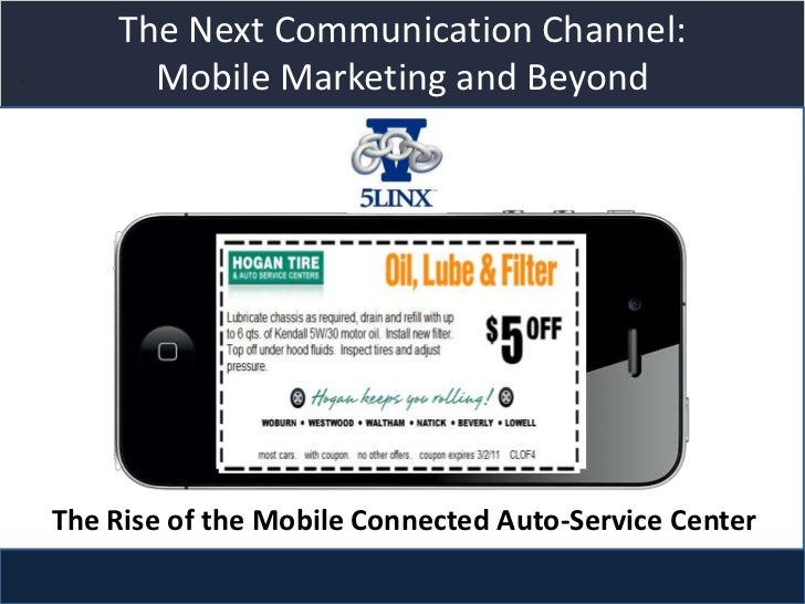 The Next Communication Channel:      Mobile Marketing and Beyond                  Title slideThe Rise of the Mobile Connec...