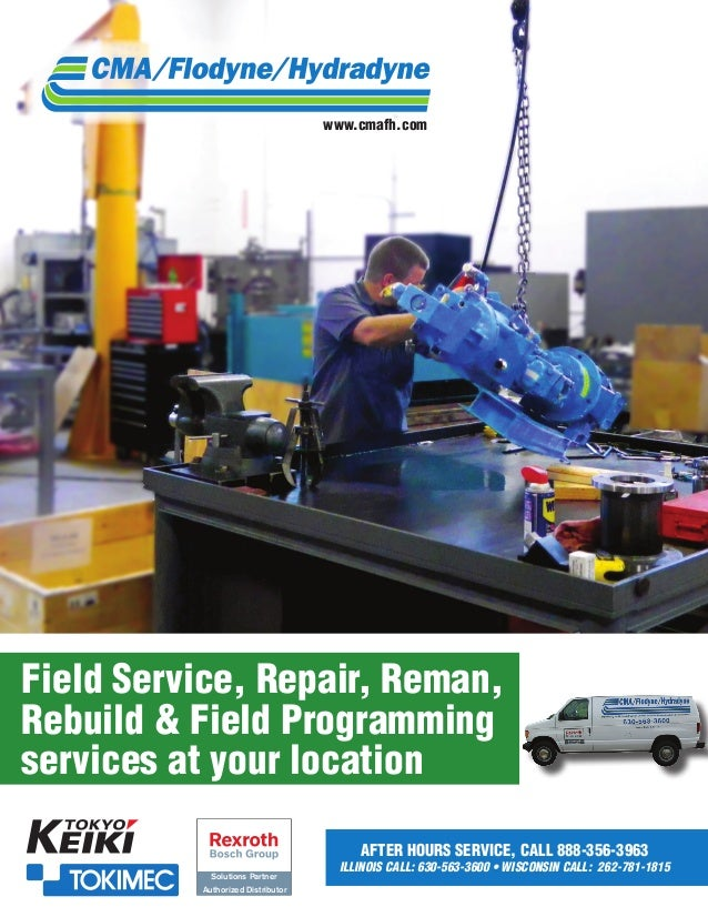 www.cmafh.com  Field Service, Repair, Reman, Rebuild & Field Programming services at your location After Hours Service, Ca...