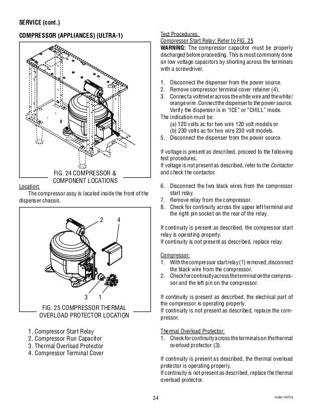 bunn ultra 2 slush machine service and repair 34 638 compressor start capacitor wiring diagram dolgular com  at webbmarketing.co
