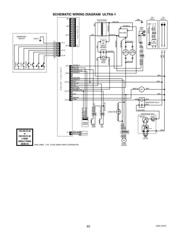 bunn ultra 2 slush machine service and repair 60 638?cb=1440151015 bunn ultra 2 slush machine service and repair bunn airpot wiring diagram at readyjetset.co