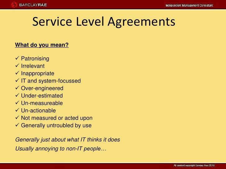 Guideline on service agreements: essential elements canada. Ca.