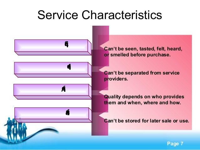 perishability of services