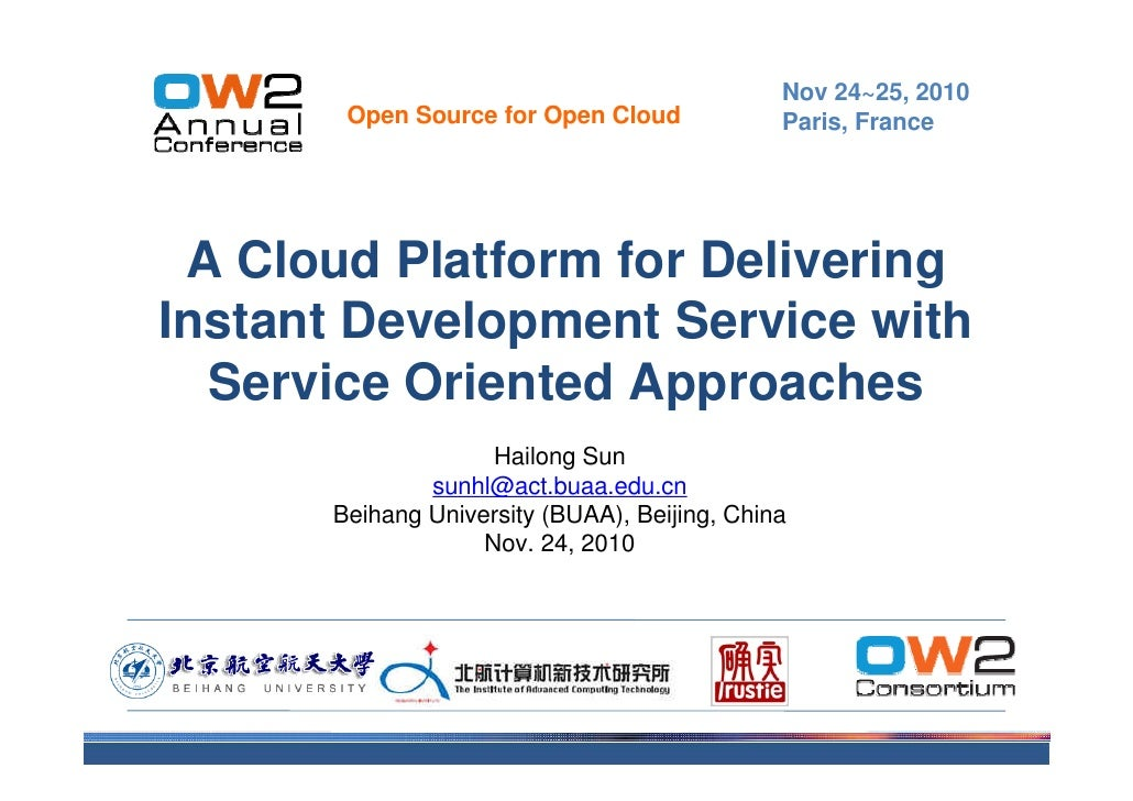 Service Cloud OW2 Conference Nov10