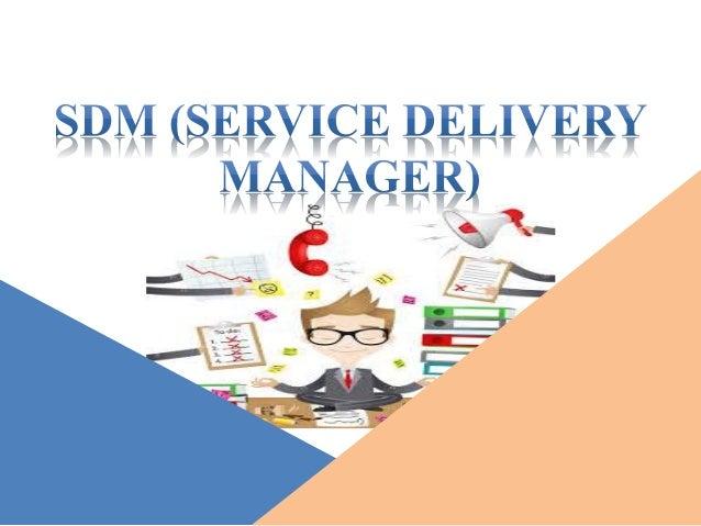 how to become a service delivery manager