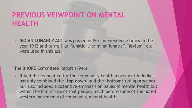 mental health Independence