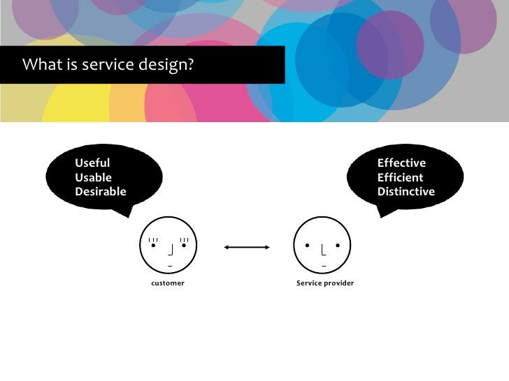 What is service design?            Useful                                    Effective        Usable                      ...