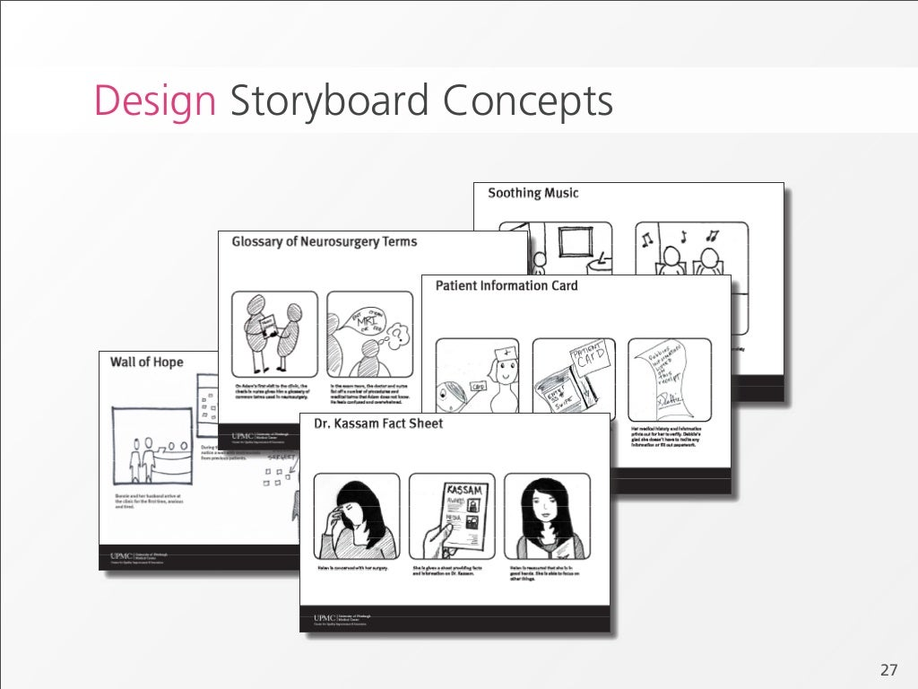 Design Storyboard Concepts 27