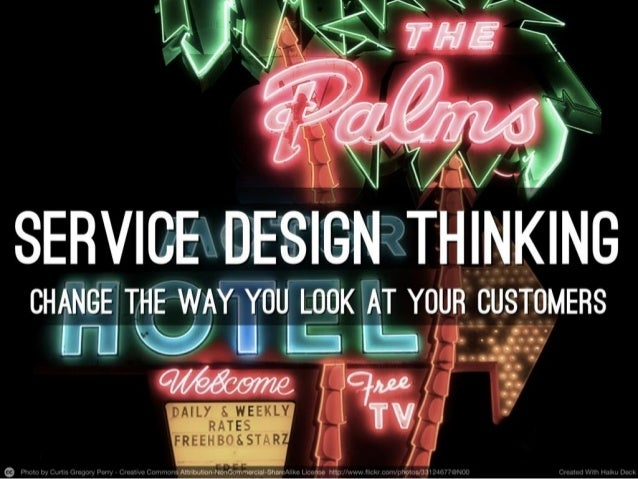 Service Design Thinking for Business