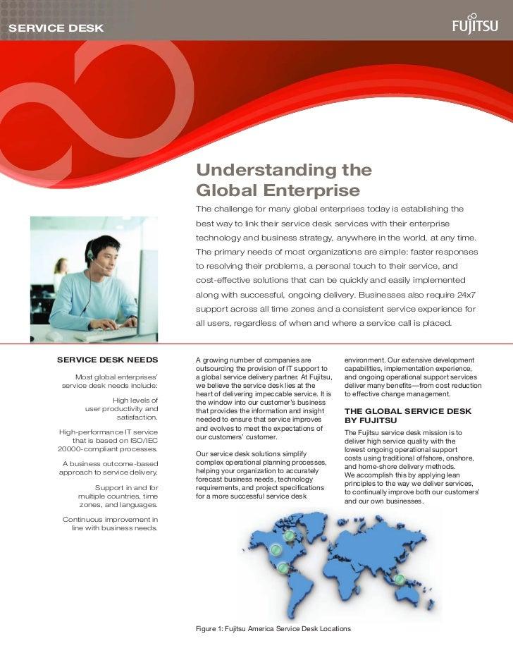 SERVICE DESK                                      Understanding the                                      Global Enterprise...