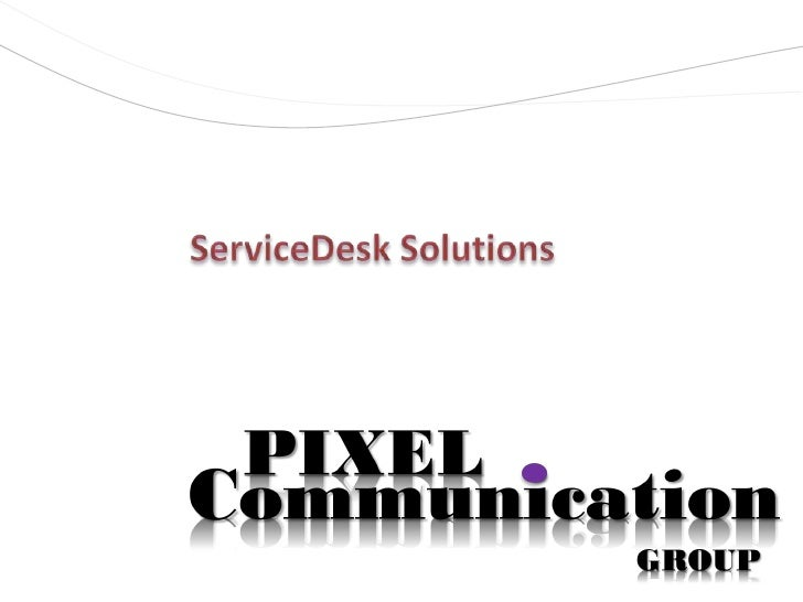 ServiceDesk Solutions<br />