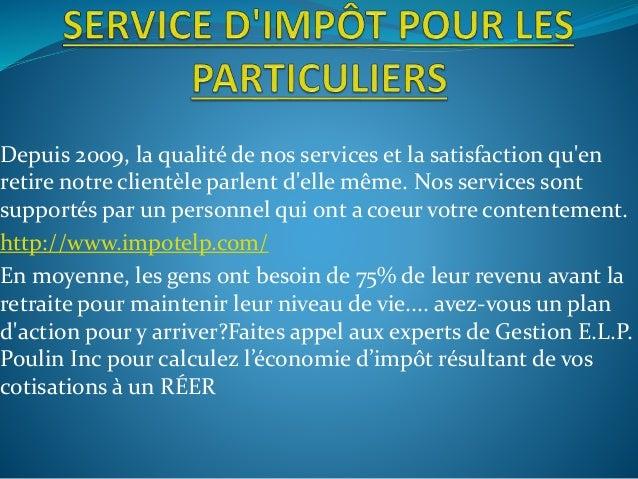Depuis 2009, la qualité de nos services et la satisfaction qu'en retire notre clientèle parlent d'elle même. Nos services ...