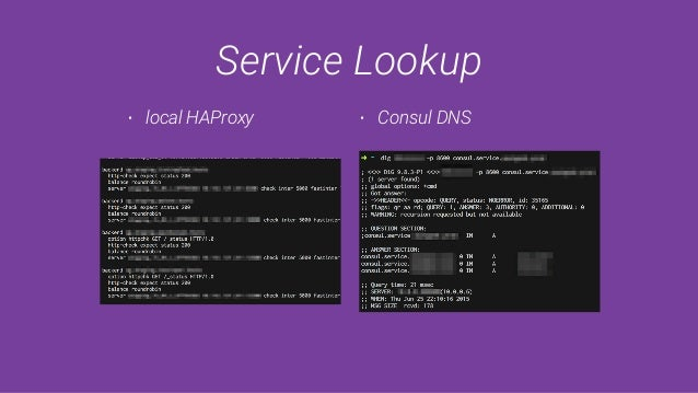 Service discovery a sales pitch to myself for Haproxy consul