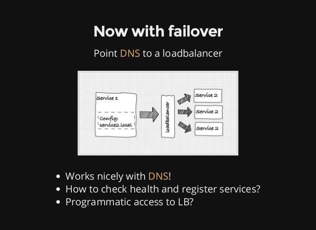 Service discovery in a microservice architecture using consul for Consul mysql health check