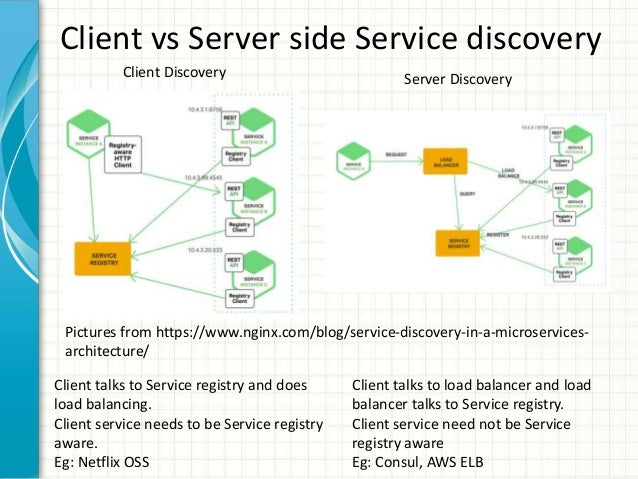 Service discovery using etcd consul and kubernetes for Consul server vs agent
