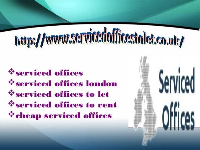Serviced offices Slide 2