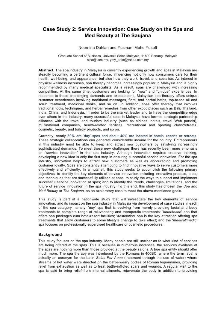 service innovation casebook  providing 11