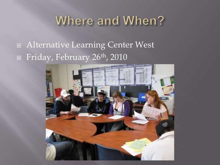 Service Learning Presentation Slide 2