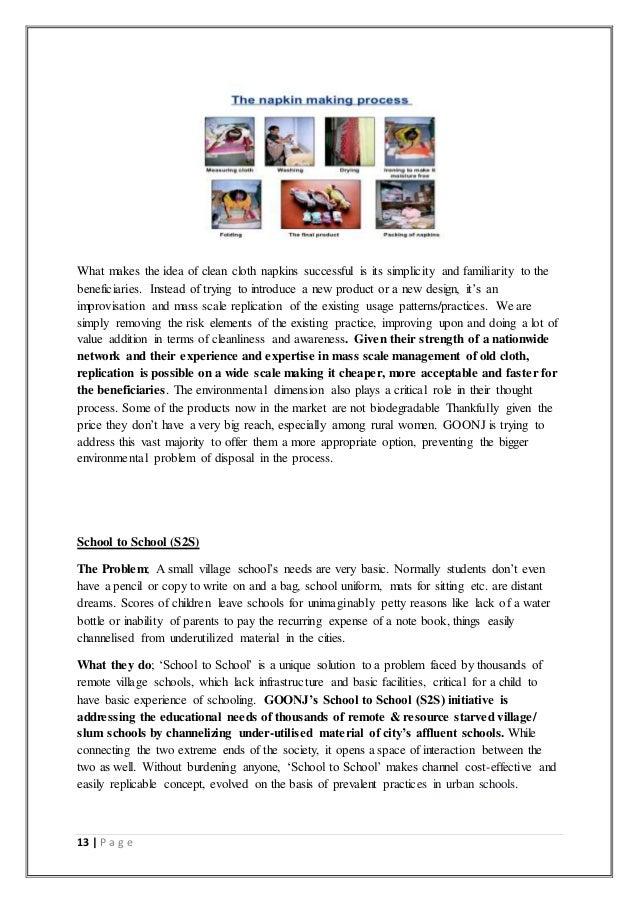Ngo csi report essay