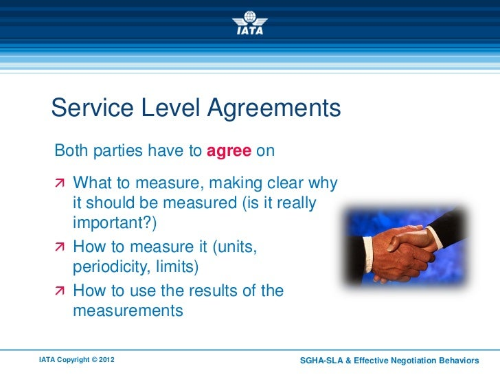 Service Level Agreement Overview – Service Level Agreement