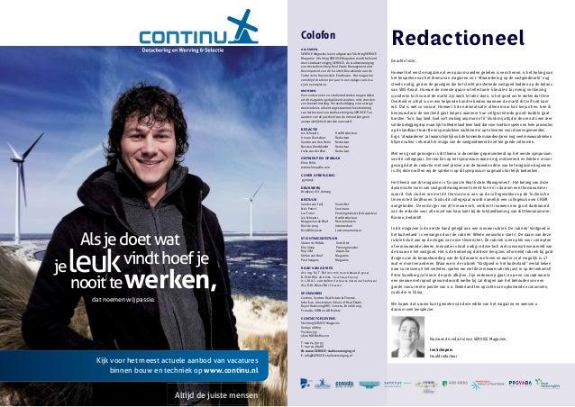 SERVICE Magazine 20.2: Corporate Real Estate Management Slide 2