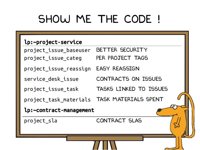Show me the code ! lp:~project-service project_issue_baseuser Better security project_issue_categ Per project tags project...