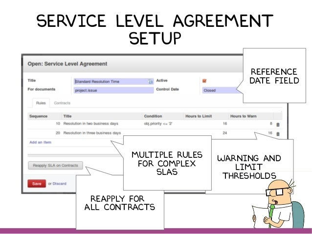 Business Service Level Agreement. Service Management With Odoo
