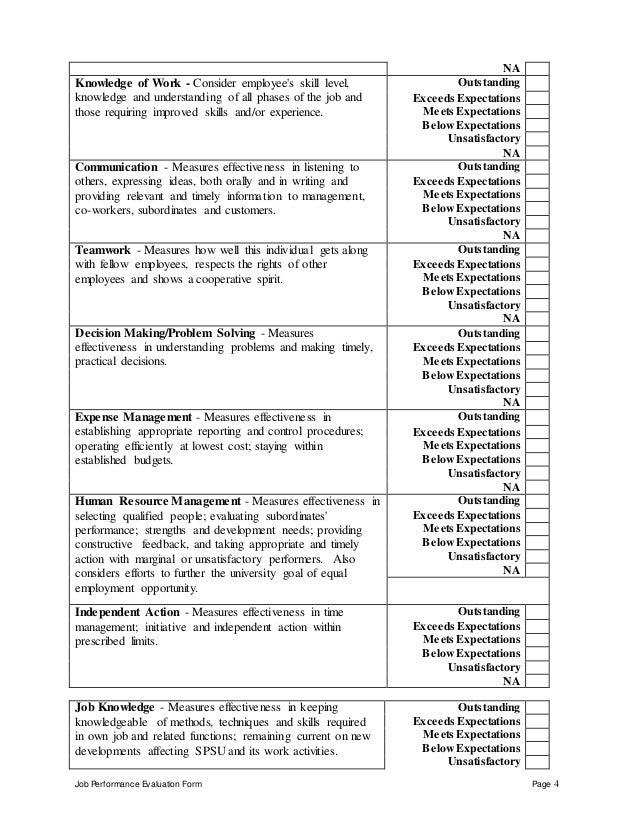 smart performance goals examples