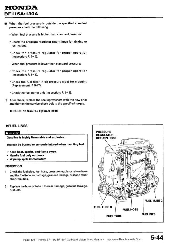 Honda Bf130 Wiring Diagram : Service manual hondasbloccato