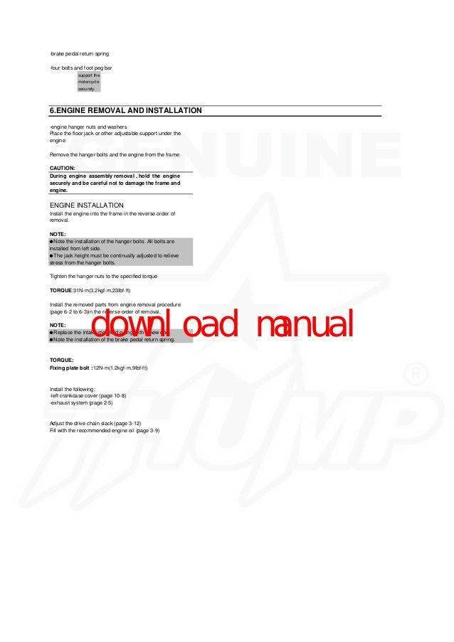 bobcat t320 engine removal and installation plate sprocket bolt manual 8