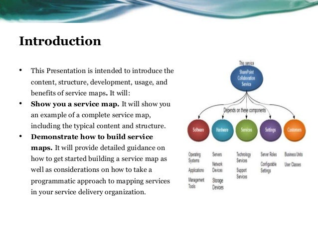 Introduction•   This Presentation is intended to introduce the    content, structure, development, usage, and    benefits ...