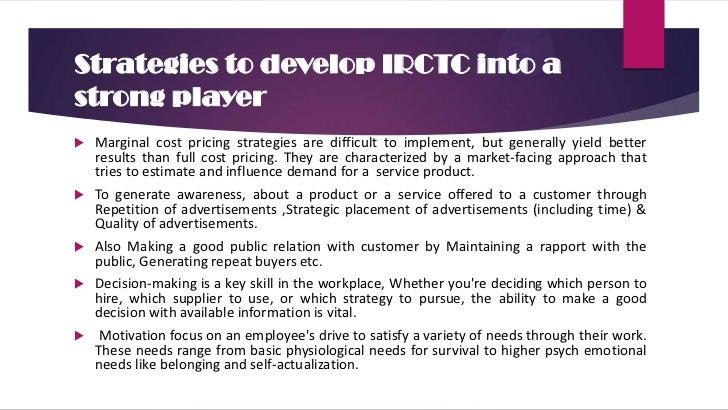 IRCTC next generation – Indian Online Railway Services