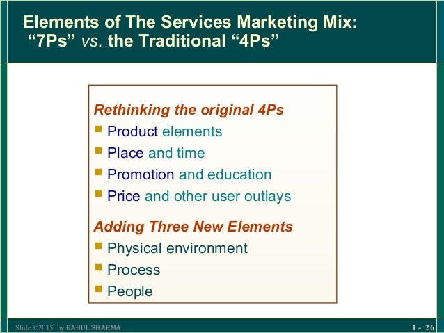 7P's (MARKETING MIX) OF SECTORS, COMPANIES
