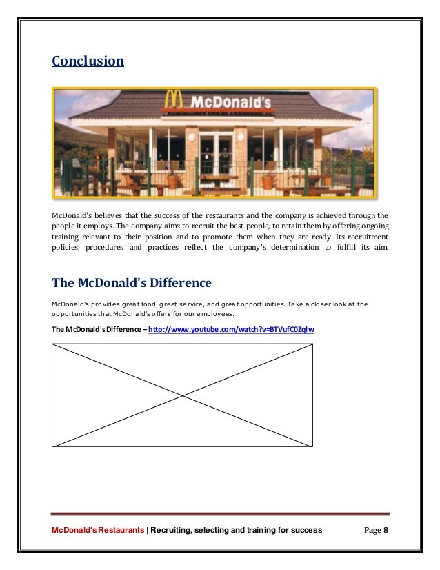 the successes of mcdonalds and its strategy to reach its goals Enhancing sustainability of operations and global value chains  our approach accelerates us towards our three aspirational goals:  to highlight its.