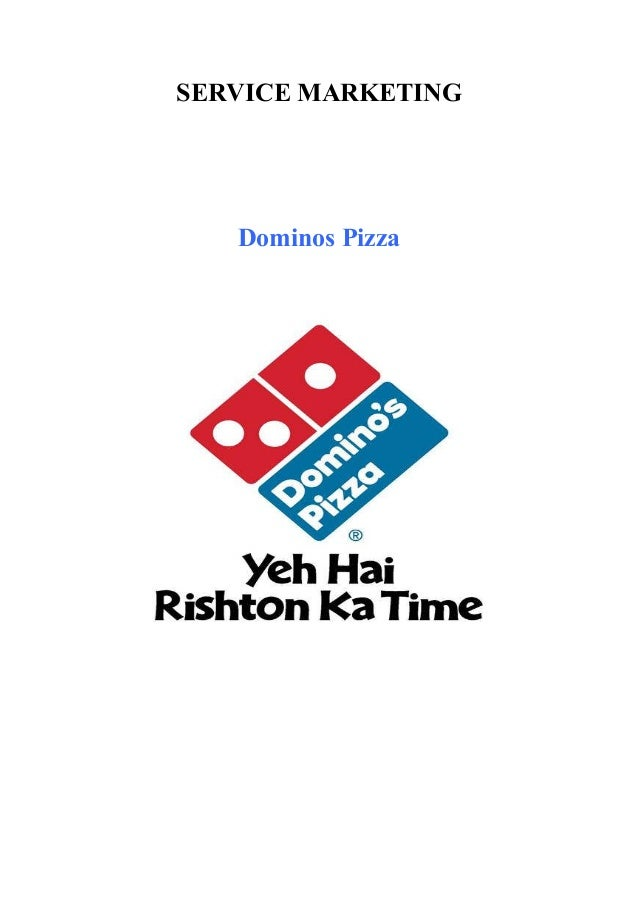 project report on dominos One of the leading pizza delivery chains across the world, the swot analysis of dominos shows the strengths that dominos has due to which it won the market it has.
